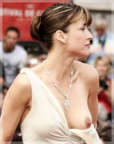 sophie marceau nipple